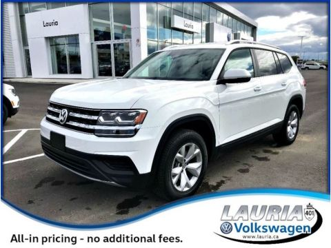 New 2018 Volkswagen Atlas 3.6 FSI Trendline 4Motion AWD