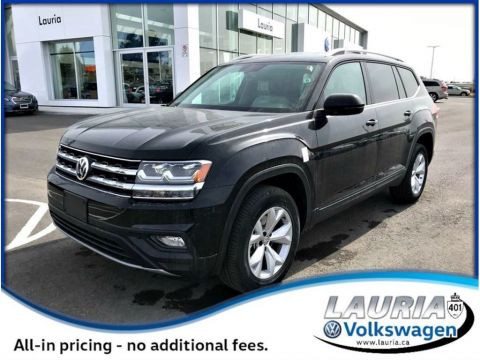 New 2018 Volkswagen Atlas 3.6 FSI Highline 4Motion AWD