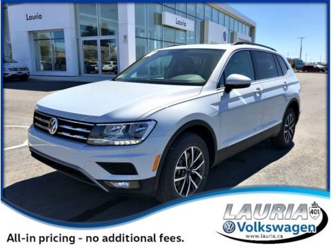New Volkswagen Tiguan In Port Hope Lauria Volkswagen