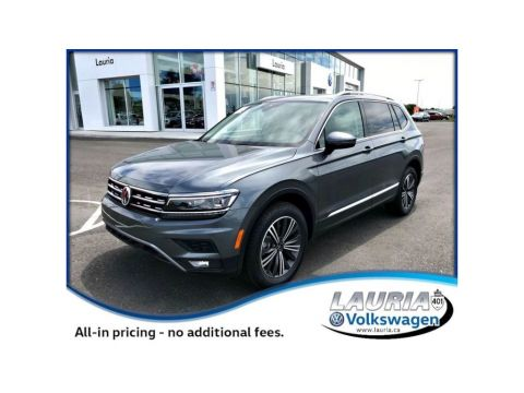 New 2018 Volkswagen Tiguan 2.0T Highline 4Motion AWD 5-Passenger