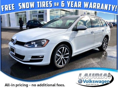 New 2017 Volkswagen Golf SportWagen 1.8 TSI Comfortline 4Motion *FREE SNOW TIRES*