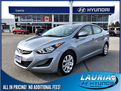 Certified Pre-Owned 2016 Hyundai Elantra GL Auto - Low kms
