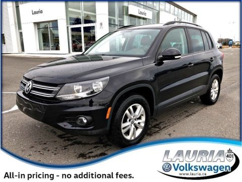 Certified Pre-Owned 2015 Volkswagen Tiguan Trendline 4Motion AWD - Bluetooth / Heated seats
