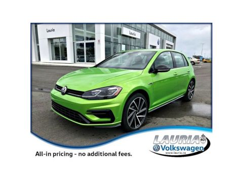 New 2018 Volkswagen Golf R 2.0 TSI 4Motion AWD Manual
