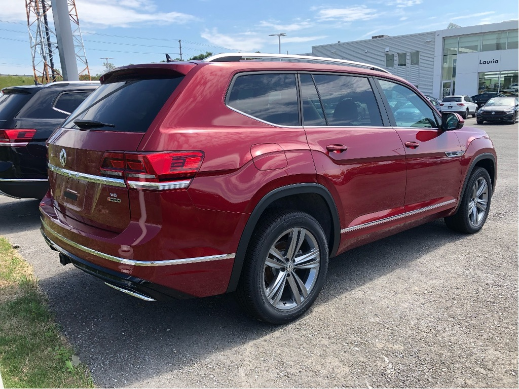 New 2019 Volkswagen Atlas 3.6L Highline R-Line 4Motion AWD