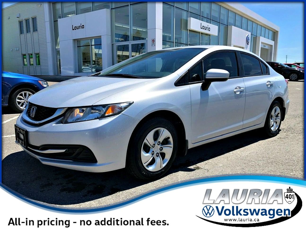 Pre-Owned 2015 Honda Civic LX Auto