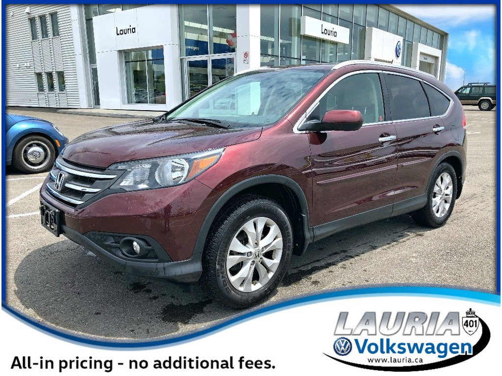Pre-Owned 2013 Honda CR-V 2.4L AWD Touring - VERY LOW KMS