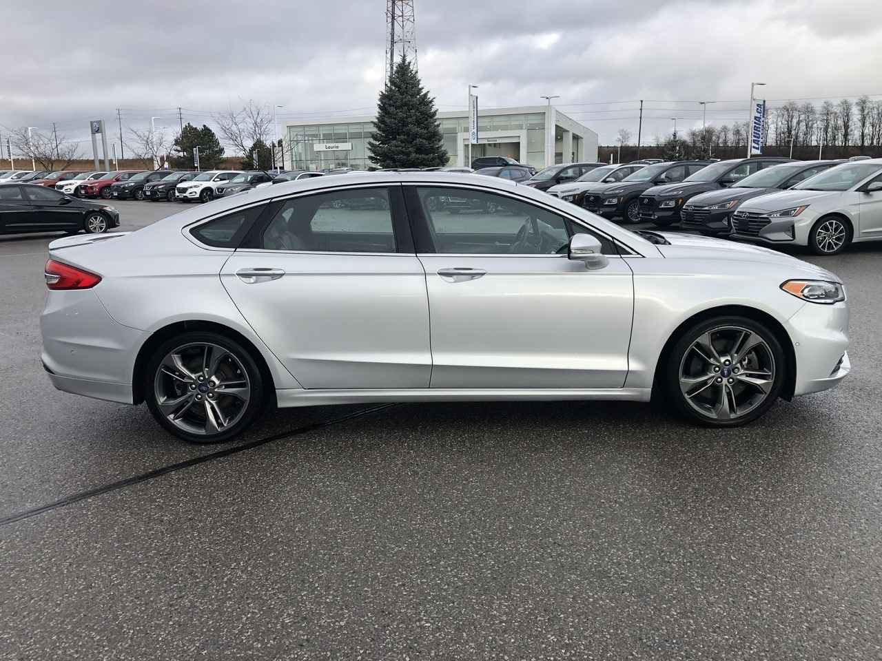 Pre-Owned 2017 Ford Fusion V6 Sport AWD - Loaded!