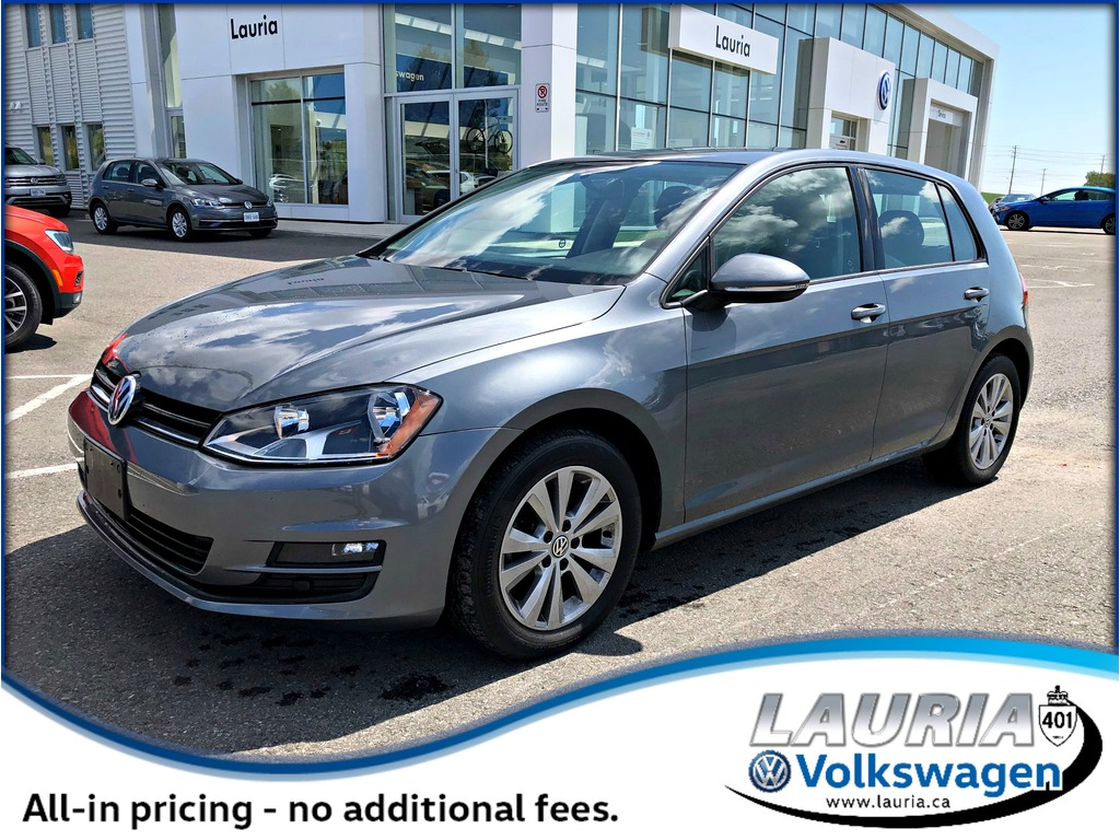 Certified Pre-Owned 2015 Volkswagen Golf TDI Comfortline - 1 owner