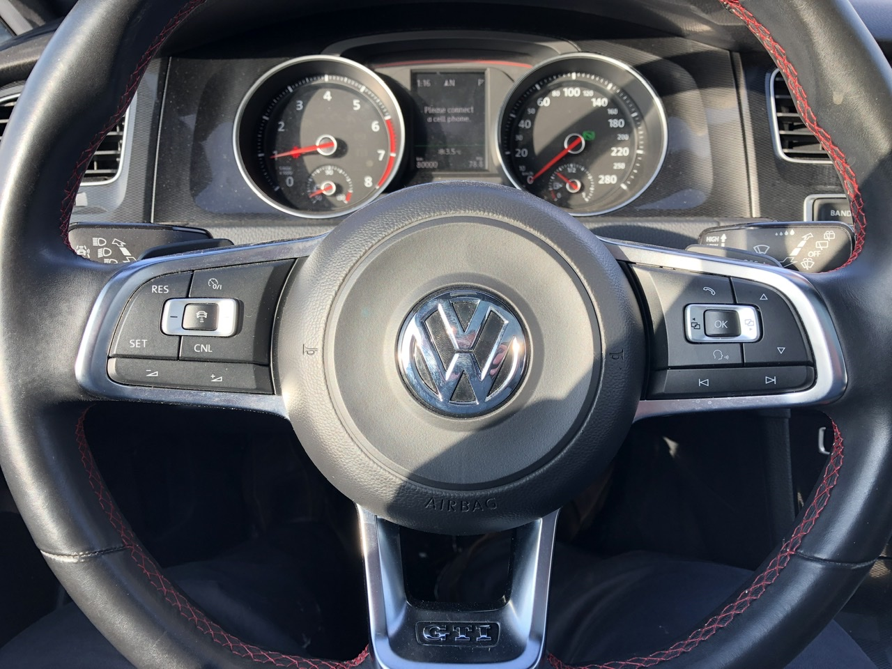 Certified Pre-Owned 2016 Volkswagen GTI Autobahn Auto - LOADED - Navigation/Leather