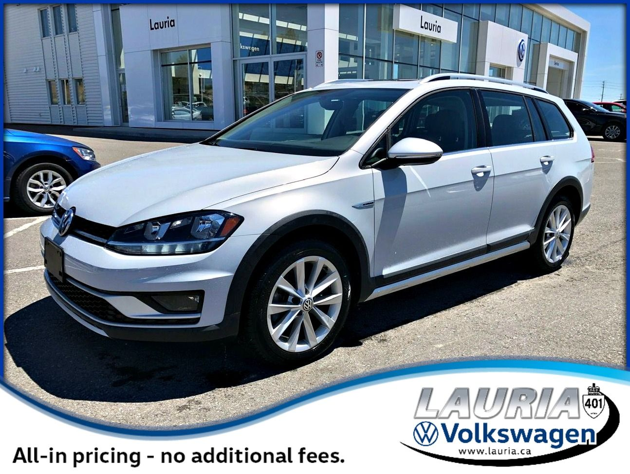 Certified Pre-Owned 2019 Volkswagen Golf Alltrack Highline 4Motion AWD - ULTRA LOW KMS