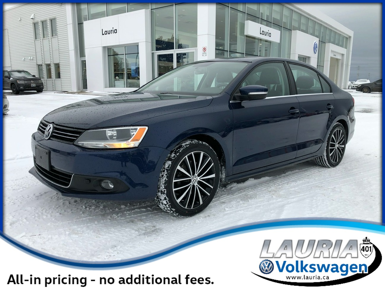 Certified Pre-Owned 2014 Volkswagen Jetta TDI Highline - LOW KMS