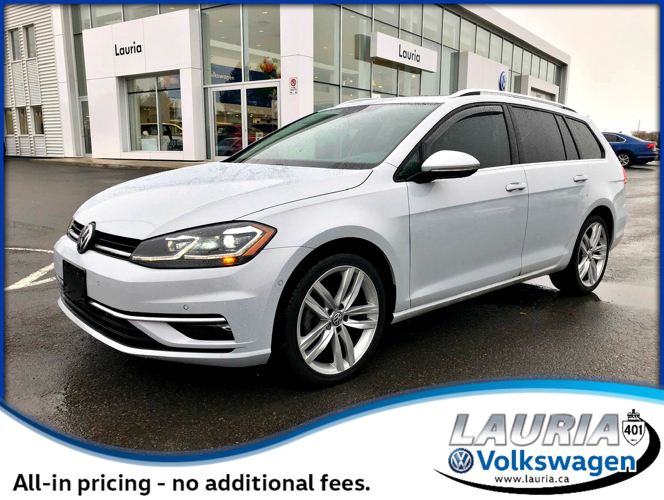 Certified Pre-Owned 2018 Volkswagen Golf SportWagen Highline 4Motion AWD