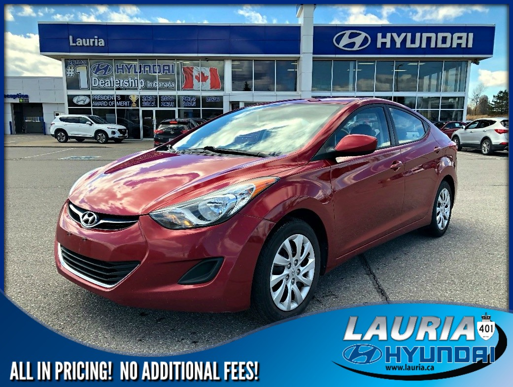 Pre-Owned 2013 Hyundai Elantra GL Auto - Heated seats / Bluetooth
