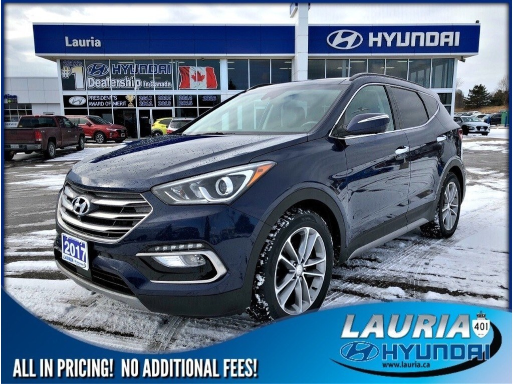 Certified Pre-Owned 2017 Hyundai Santa Fe Sport 2.0T AWD Ultimate - TOTALLY LOADED