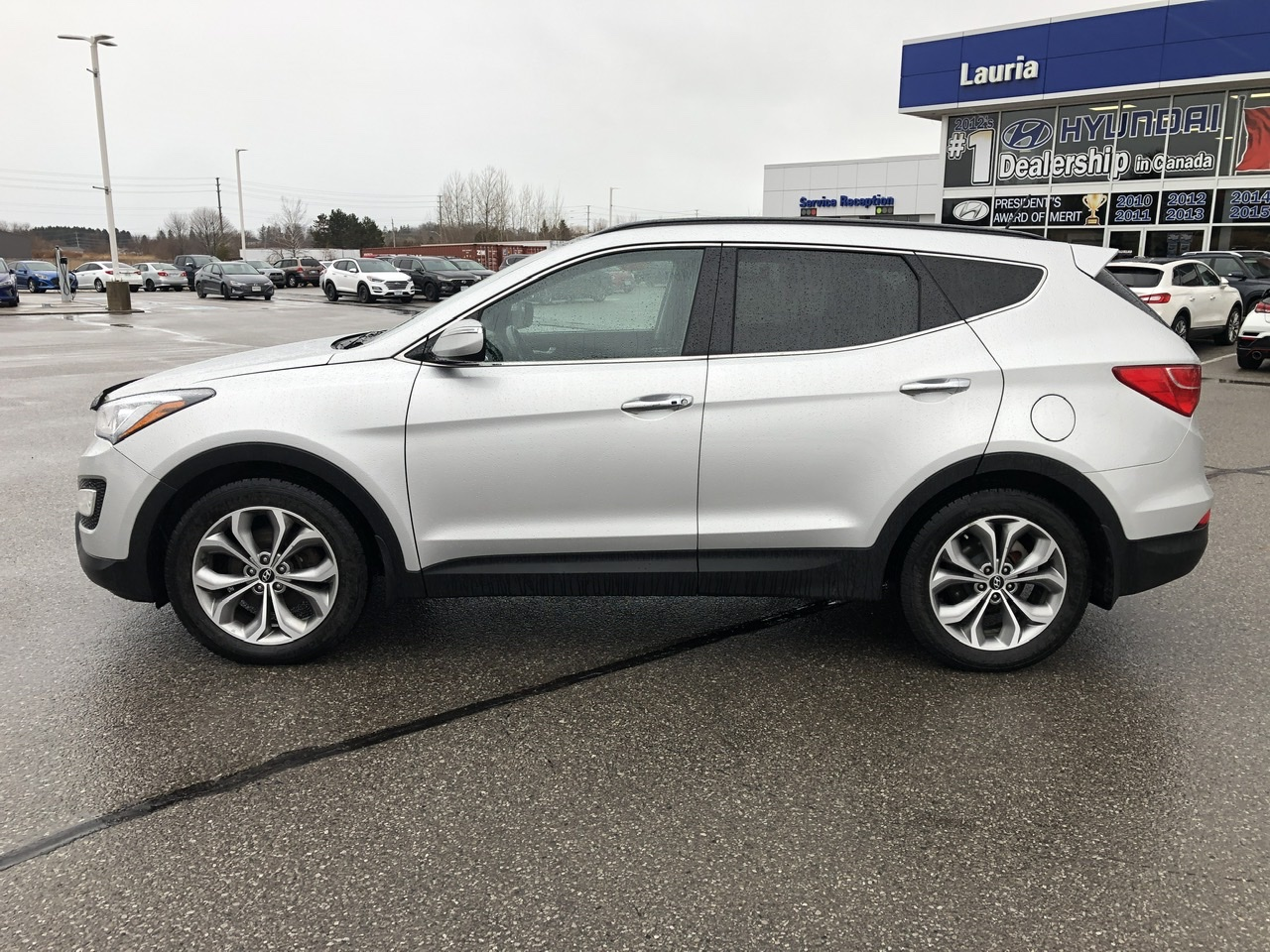 Pre-Owned 2014 Hyundai Santa Fe Sport 2.0T AWD Limited - Loaded!