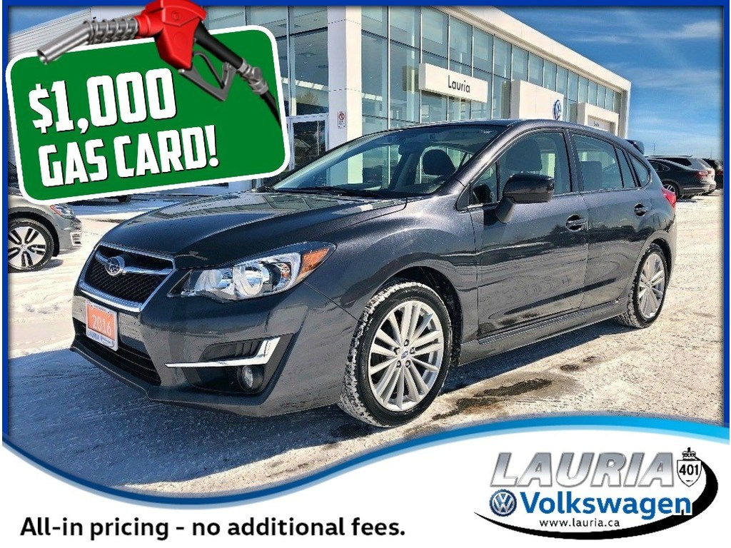 Pre Owned 2016 Subaru Impreza 2 0i Sport Tech Pkg Awd