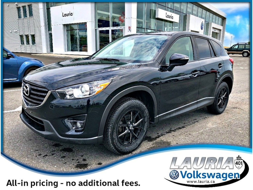 Pre-Owned 2016 Mazda CX-5 GS - Navigation / Sunroof