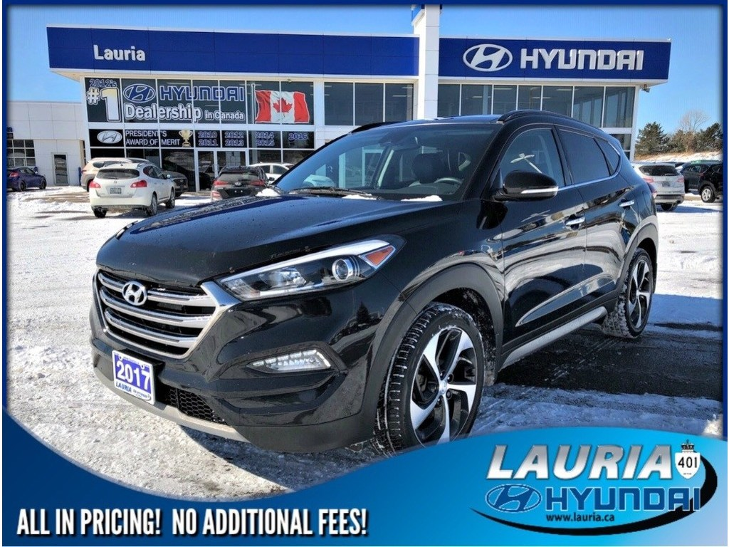 Certified Pre-Owned 2017 Hyundai Tucson 1.6T AWD Ultimate - Navigation - Loaded!