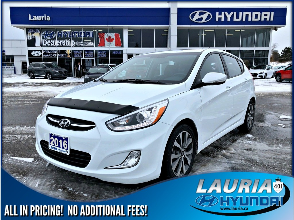 Certified Pre-Owned 2016 Hyundai Accent GLS Auto - Sunroof / Bluetooth