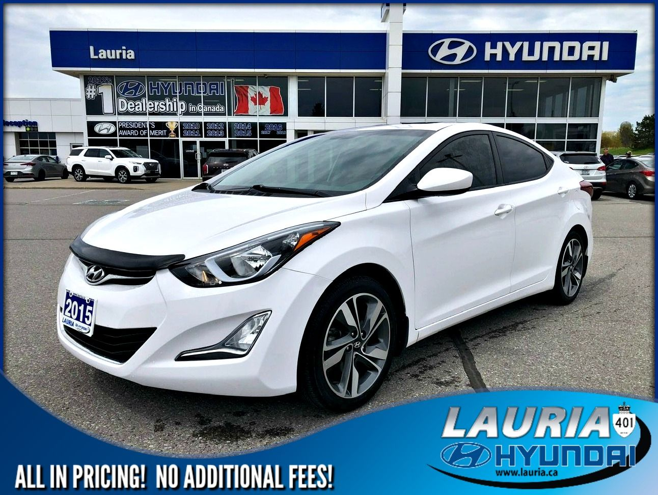 Pre-Owned 2015 Hyundai Elantra GLS Auto - LOW KMS