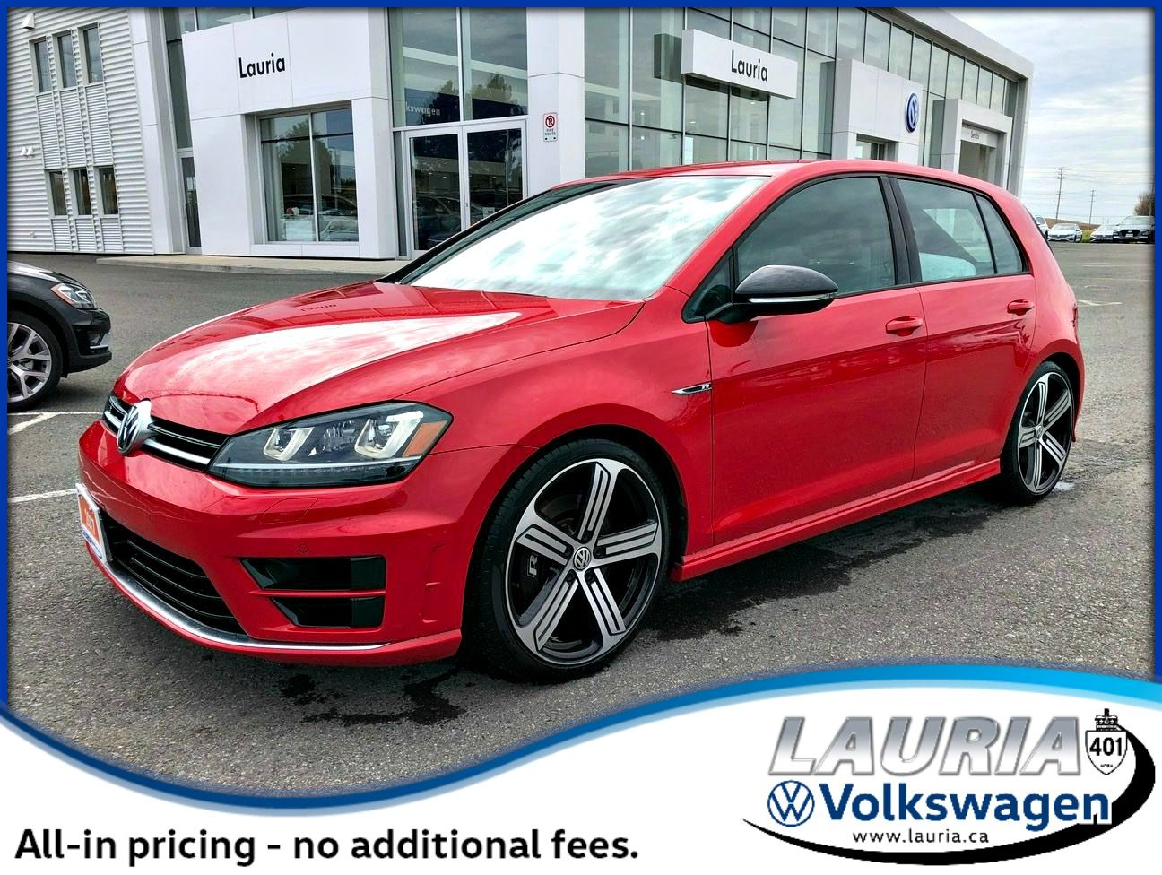 Certified Pre-Owned 2017 Volkswagen Golf R 2.0 TSI AWD