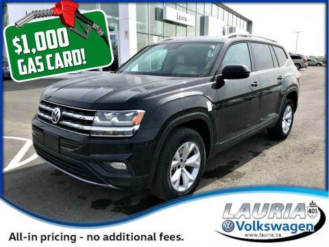 New 2018 Volkswagen Atlas 3.6 FSI Comfortline 4Motion AWD