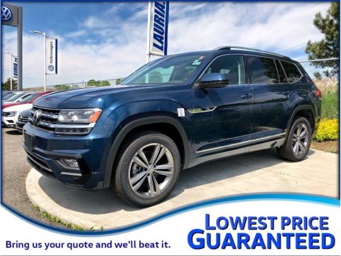 New 2019 Volkswagen Atlas 3.6L Execline R-Line 4Motion AWD