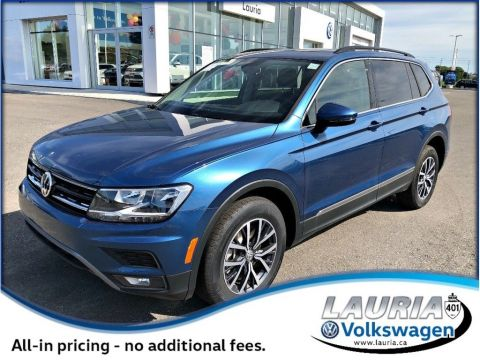 New 2019 Volkswagen Tiguan 2.0T Highline 4Motion AWD 7-Passenger