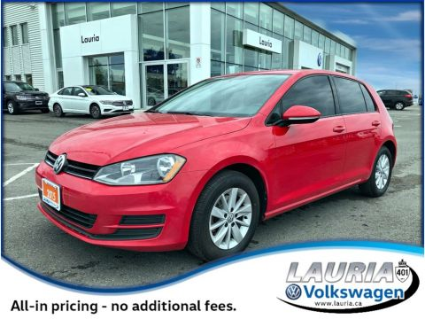 Certified Pre-Owned 2015 Volkswagen Golf 1.8 TSI Trendline Manual - Heated seats / Bluetooth