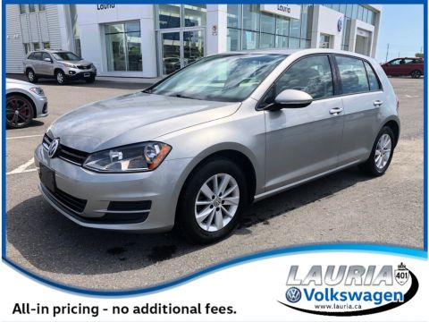 Certified Pre-Owned 2015 Volkswagen Golf 1.8 TSI Trendline - LOW KMS
