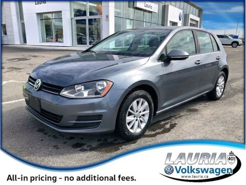 Certified Pre-Owned 2016 Volkswagen Golf 1.8 TSI Comfortline - Bluetooth / Backup camera