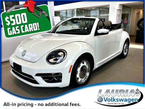 New 2018 Volkswagen Beetle 2.0 TSI Coast Convertible Auto