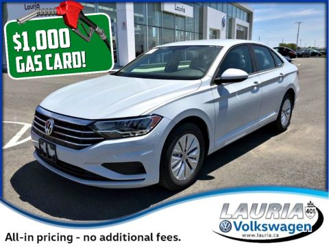 New 2019 Volkswagen Jetta 1.4 TSI Comfortline - DEMO - $1,000 Gas Card
