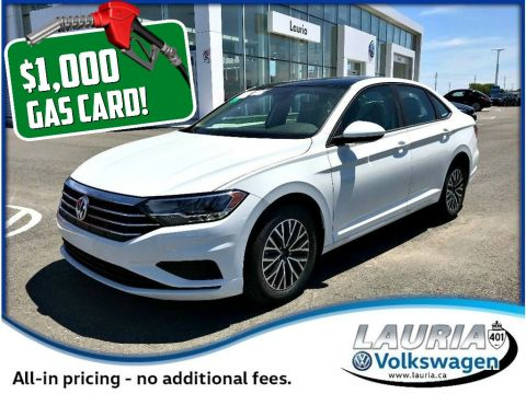 New 2019 Volkswagen Jetta 1.4 TSI Highline *DEMO - Includes $1,000 Gas Card*