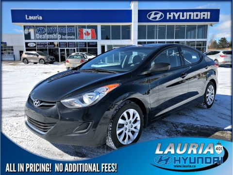 Pre-Owned 2013 Hyundai Elantra GL Auto - Bluetooth / Heated seats