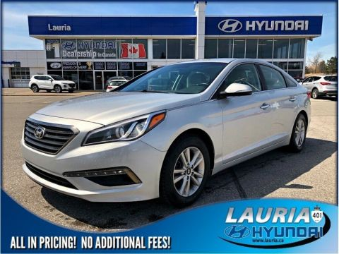 Certified Pre-Owned 2015 Hyundai Sonata GLS Auto Bluetooth / Heated seats