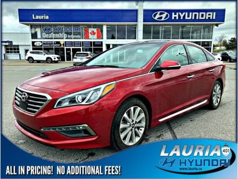 Certified Pre-Owned 2016 Hyundai Sonata Limited - Low kms - Loaded!