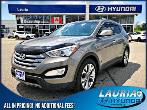 Pre-Owned 2015 Hyundai Santa Fe Sport 2.0T AWD Limited - Loaded / Navigation