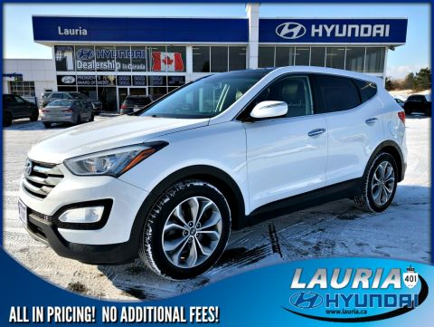 Pre-Owned 2013 Hyundai Santa Fe Sport 2.0T AWD SE - Leather / Panoramic sunroof