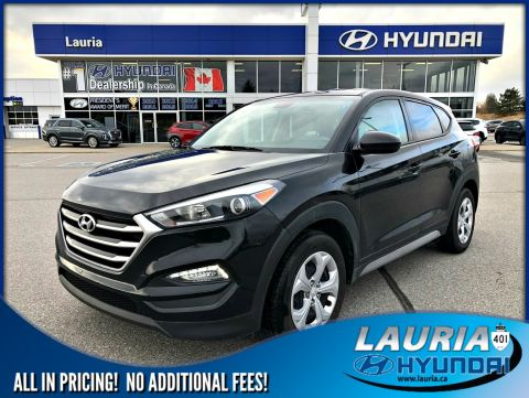 Certified Pre-Owned 2017 Hyundai Tucson 2.0L AWD Auto - LOW KMS
