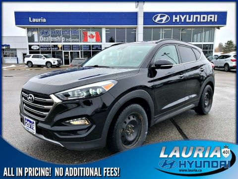 Certified Pre-Owned 2016 Hyundai Tucson 1.6T AWD Ultimate - LOADED