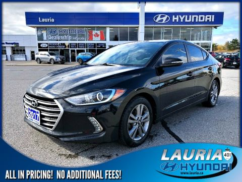 Certified Pre-Owned 2017 Hyundai Elantra GL Auto - Apple Carplay / Backup camera
