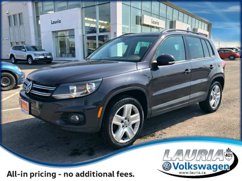 Certified Pre-Owned 2016 Volkswagen Tiguan Special Edition 4Motion AWD