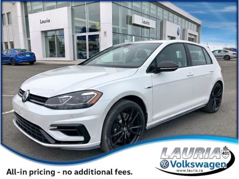 New 2019 Volkswagen Golf R 2.0 TSI 4Motion AWD Manual